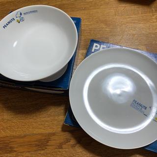 ピーナッツ(PEANUTS)のスヌーピー ボウル、平皿セット(食器)