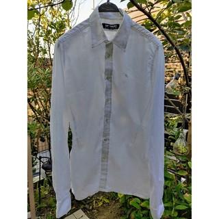 ラフシモンズ(RAF SIMONS)のRAF SIMONS ラフシモンズ 2002 S/S R刺繍 タイトシャツ / (シャツ)
