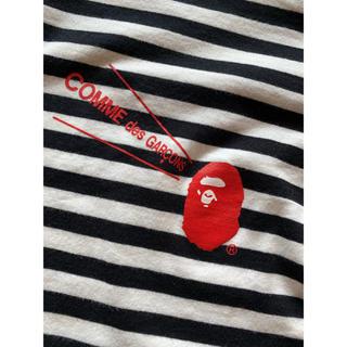 コムデギャルソン(COMME des GARCONS)のcomme des garçon × Bape(Tシャツ/カットソー(七分/長袖))