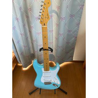 Fender - フェンジャパ ストラトキャスター 水色