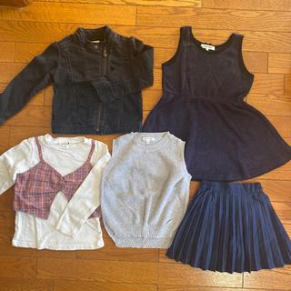 ブランシェス(Branshes)の5点セット売り⭐︎ 女の子(Tシャツ/カットソー)