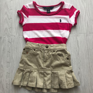 ポロラルフローレン(POLO RALPH LAUREN)のラルフローレンスカート ボーダーシャツ まとめ売り(Tシャツ/カットソー)