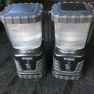 ジェントス(GENTOS)の【限定値下げ】ジェントス LEDランタン EX-777XP 2個セット(ライト/ランタン)