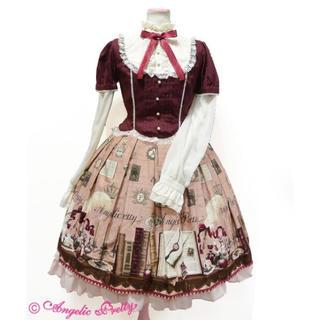 Angelic Pretty - カチューシャ set★ victorian letter ワンピースワイン