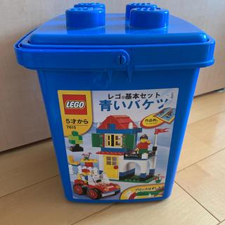 Lego - レゴ ブロック 青いバケツ7615