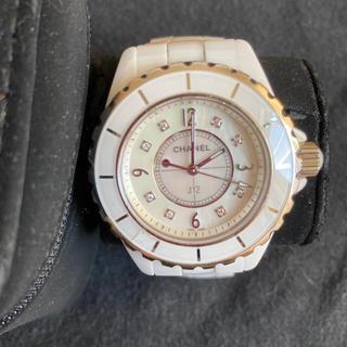CHANEL - CHANEL 時計 j12 ダイヤ パール