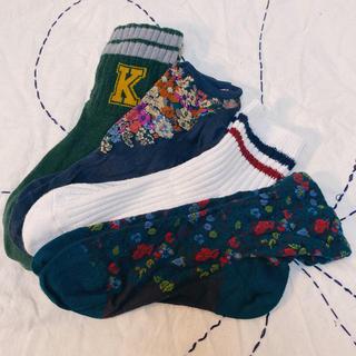 クツシタヤ(靴下屋)の靴下屋 靴下4足セット(定価約3600円)(ソックス)