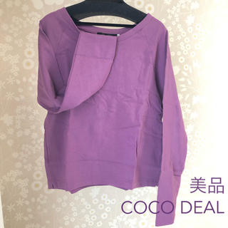COCO DEAL - 【美品】COCO DEAL♡カラーロンT