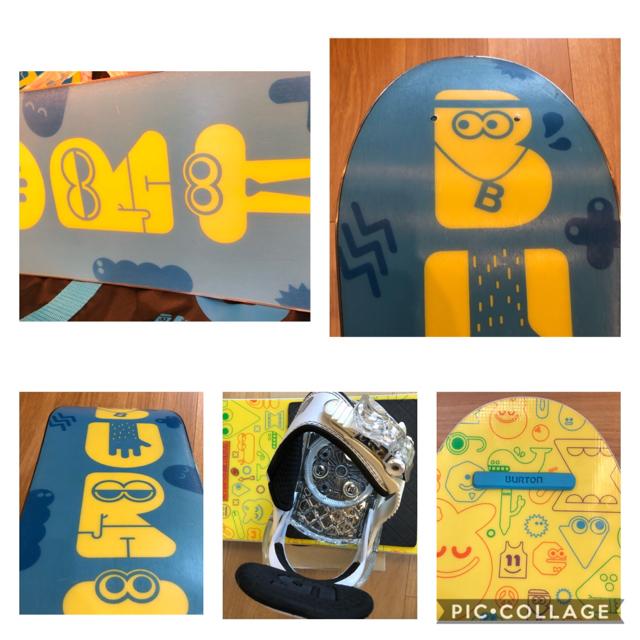BURTON(バートン)のチャッキー様専用 BURTON スノーボード ブーツ バインディング3点セット  スポーツ/アウトドアのスノーボード(ボード)の商品写真