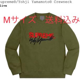 シュプリーム(Supreme)のSupreme Yohji Yamamoto Crewneck  Mサイズ(スウェット)