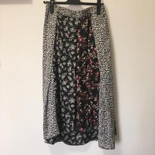 レプシィム(LEPSIM)のLEPSIM 花柄巻きスカート(ロングスカート)
