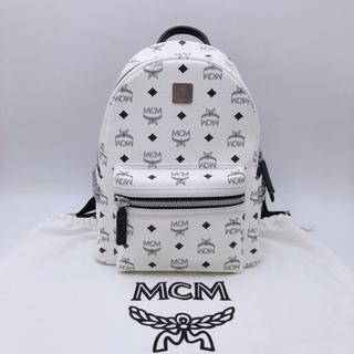 MCM リュック バックパック ホワイト S サイズ