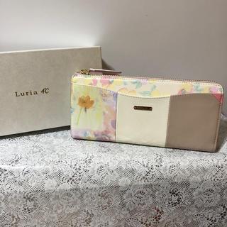 4℃ - 新品 ルリア4℃ (Luria 4℃) 長財布