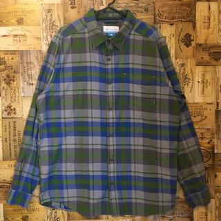 コロンビア(Columbia)のネルシャツ メンズ チェックシャツ コロンビア ボタンダウン 2XL 長袖シャツ(シャツ)