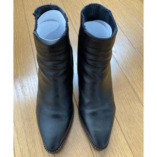 アッシュ(ASH)のASH インヒール ブーツ 36 ブラック(ブーツ)
