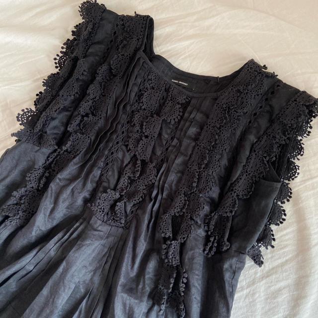 Isabel Marant(イザベルマラン)のイザベルマラン 完売刺繍フリルブラウス レディースのトップス(シャツ/ブラウス(半袖/袖なし))の商品写真