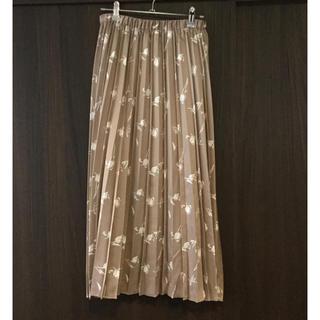 しまむら - 線画 プリーツスカート Lサイズ【新品】 しまむら