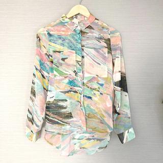H&M シアーシャツ