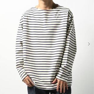 コモリ(COMOLI)のLE バスクシャツ WIDE Mサイズ(Tシャツ/カットソー(七分/長袖))