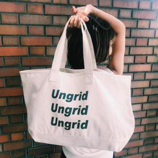 Ungrid - アングリッド Ungrid ノベルティ エコバッグ トートバッグ
