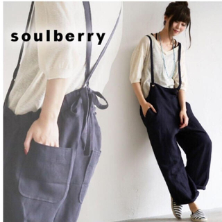ソルベリー(Solberry)のsoul berry ソウルベリー サロペット (サロペット/オーバーオール)