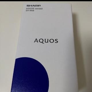 アクオス(AQUOS)の【新品未開封 】SHARP AQUOS sense2 SH-M08 (スマートフォン本体)