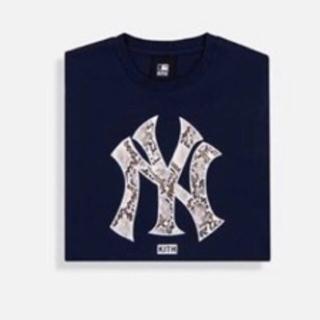 シュプリーム(Supreme)のkith Yankees ヤンキース ロンT(Tシャツ/カットソー(七分/長袖))