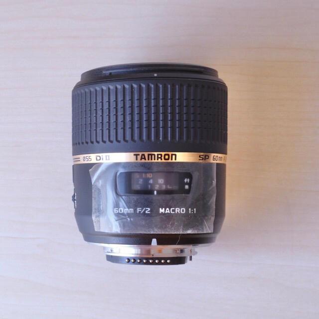 TAMRON(タムロン)のタムロン SP AF 60mm F2 Di Ⅱ LD[IF] マクロ ニコン用 スマホ/家電/カメラのカメラ(レンズ(単焦点))の商品写真