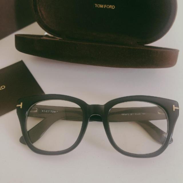 TOM FORD(トムフォード)のTOM FORD 伊達メガネ レディースのファッション小物(サングラス/メガネ)の商品写真