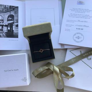 Van Cleef & Arpels - スイートアルハンブラ  2017年購入 カーネリアン ブレスレット