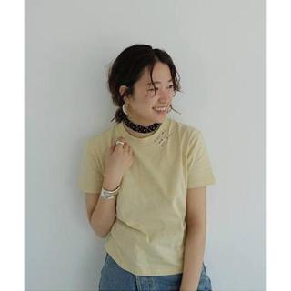 """トゥデイフル(TODAYFUL)のTODAYFUL """"Embroidery T-shirts""""(Tシャツ/カットソー(半袖/袖なし))"""