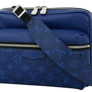 LOUIS VUITTON - 即購入可 ルイヴィトン レザー モノグラム コバルト ブルー ショルダーバッグ