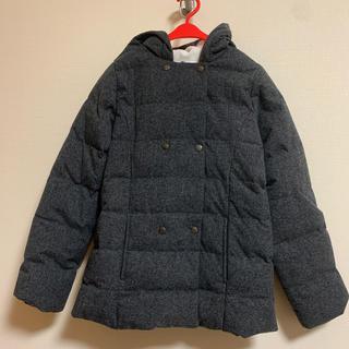 プチバトー(PETIT BATEAU)の【HANA0198様】プチバトー☆中綿 フランネルフード付コート 10ans(コート)