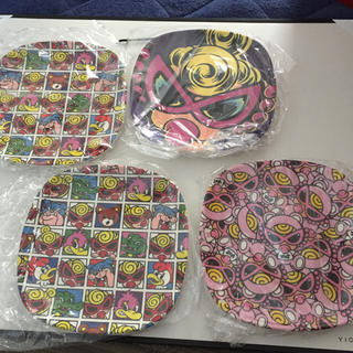 HYSTERIC MINI - 新品未使用、ナイロンのまま保管4枚まとめ売り、ノベルティプラ皿