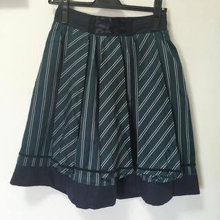 アクシーズファム(axes femme)のアクシーズ ストライプスカート(ひざ丈スカート)