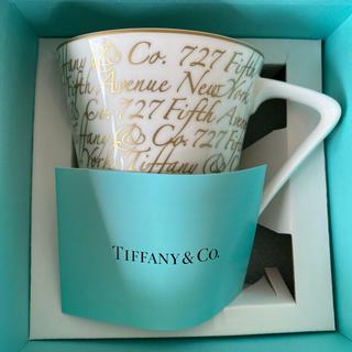 ティファニー(Tiffany & Co.)の【新品】Tiffany&Co ティファニー ノーツ マグカップ(グラス/カップ)