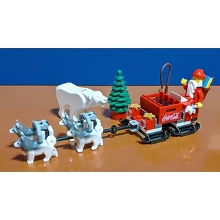 Lego - レゴ★コカ・コーラ 北極サンタ&コーラ 犬ぞりVer.激レア 美品 1点モノ