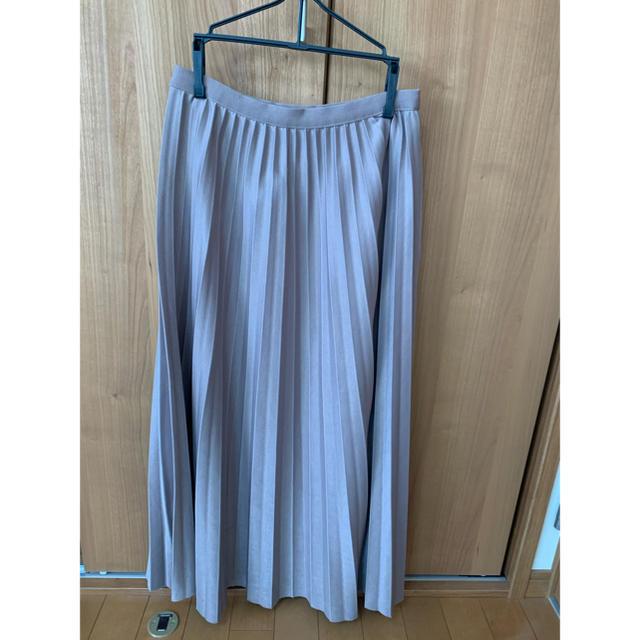 GRL(グレイル)のGRL プリーツスカート グレージュ レディースのスカート(ロングスカート)の商品写真