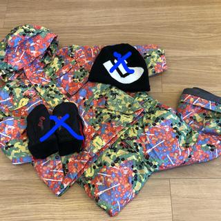 バートン(BURTON)のBurton キッズ スノーボード ウエア上下 手袋 ニット帽 (ウエア/装備)