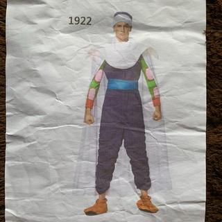 ドラゴンボール ピッコロ コスチューム 男性用 フリーサイズ(衣装一式)