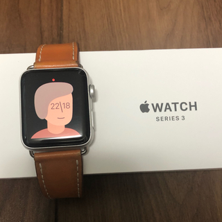 Apple Watch - Apple Watch series 3 42mm GPSシルバー ベルト未使用