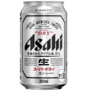 アサヒ - 【送料込み】アサヒ ビール アサヒスーパードライ350ml×12本