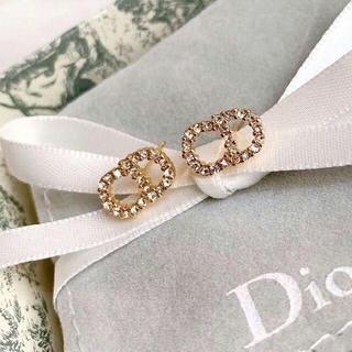 Dior - 人気CDピアス   Dior ディオール キラキラクリスタル
