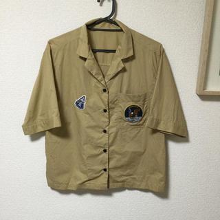 GU - NASAコラボ 開襟半袖シャツ 処分価格