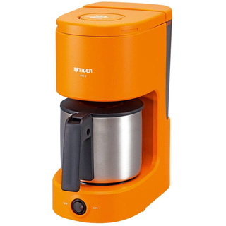 TIGER - タイガー コーヒーメーカー 6杯用 オレンジ ACC-S060-D Tiger
