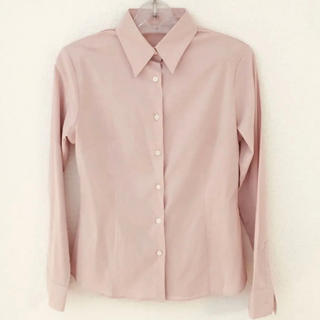 UNIQLO - 美品 UNIQLO モーヴピンクのシャツ  ブラウス
