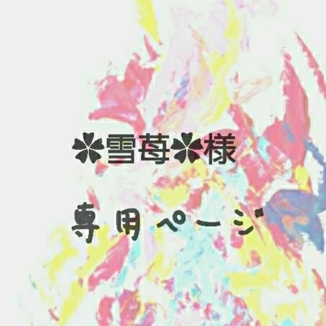 ✿雪苺✿様  専用ページ エンタメ/ホビーのタレントグッズ(アイドルグッズ)の商品写真