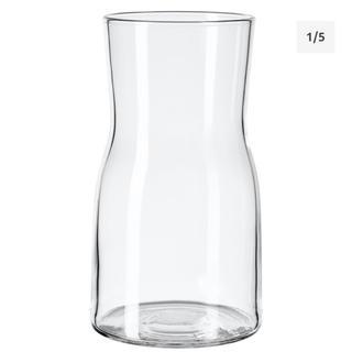 イケア(IKEA)のIKEA  イケア ティドヴァッテン 花瓶 クリアガラス 17 cm(花瓶)