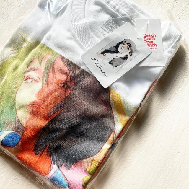 Design Tshirts Store graniph(グラニフ)の小雷門 リトルサンダー グッズ Tシャツ 新品未使用 メンズのトップス(Tシャツ/カットソー(半袖/袖なし))の商品写真