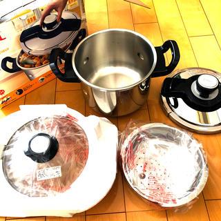 ティファール(T-fal)のT-fal ティファール 圧力鍋(鍋/フライパン)